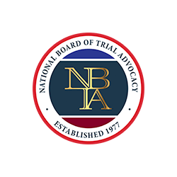 Certified by the National Board of Trial Advocacy